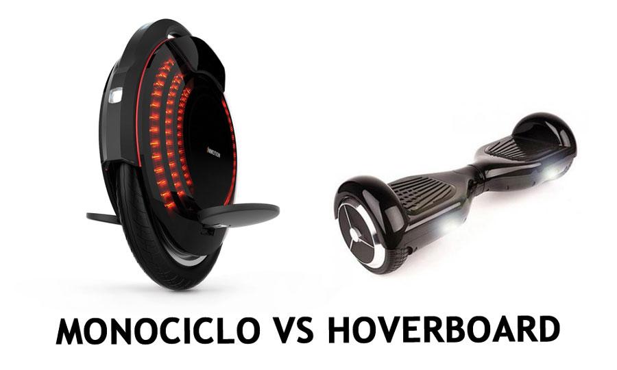 MONOCICLO VS HOVERBOARD