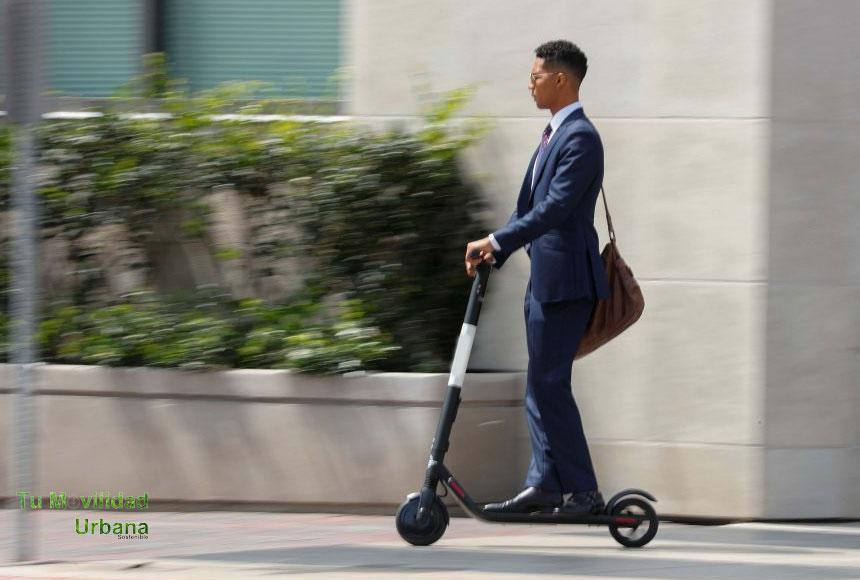 scooter electrico para ir al trabajo