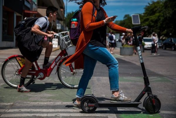 patinete elcetrico en ciudad oropesa
